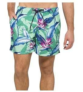 Tommy Hilfiger Paradise Flower Print Swim Shorts