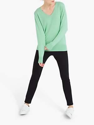 Lulu NRBY Cotton Cashmere Knit Sweater, Soft Mint
