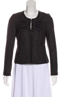 Rebecca Taylor Long Sleeve Wool Jacket