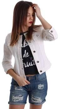 Gaudì Jeans Blazer 73BD34210 Jacke Frauen White