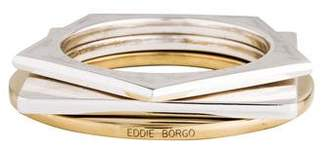 Eddie Borgo Set of 3 Geometric Bangles