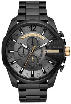 Diesel R) Mega Chief Chronograph Bracelet Watch, 51mm