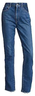 3171f9a23ce Jonathan Simkhai Women s Stove Pipe HIgh-Rise Jeans