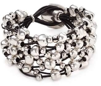 Uno de 50 Beaded Toggle Bracelet