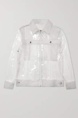 Rains Glossed-tpu Jacket - Clear