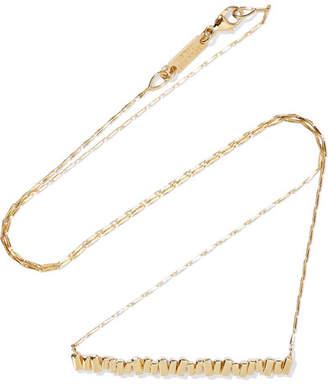 Suzanne Kalan 18-karat Gold Necklace