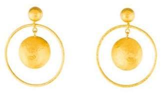 Gurhan 24K Geo Drop Earrings