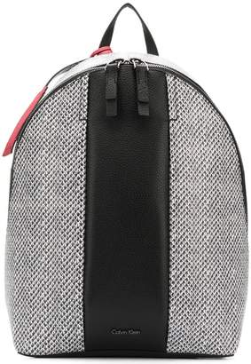 Calvin Klein printed backpack