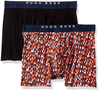 HUGO BOSS Men's Boxer Brief 2-Pack Print