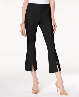 INC International Concepts I.n.c. Curvy-Fit Cropped Split-Hem Pants