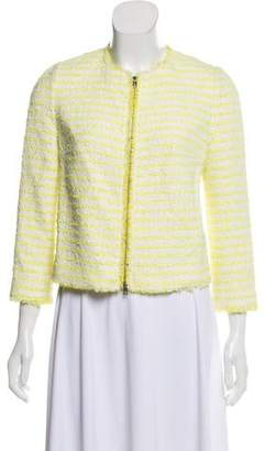 Giambattista Valli Striped Tweed Jacket