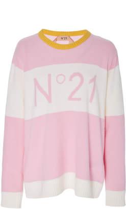 N°21 N 21 Clara Round Neck Knit Sweater