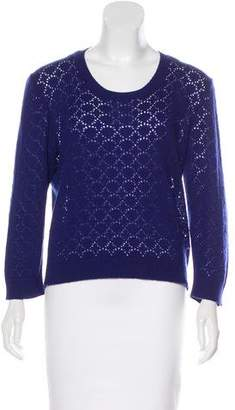 Marc Jacobs Open Knit Cashmere Sweater