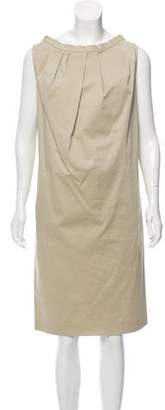 Agnona Sleeveless Midi Dress