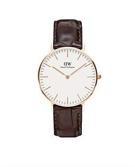 Daniel Wellington Classic York 36Mm Rose Gold