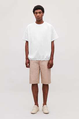Cos OVERSIZED T-SHIRT WITH DRAWCORD