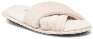 Spa Stitched Cross Band Slippers