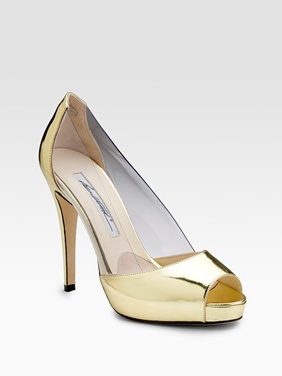 Brian Atwood Peep-Toe Pumps