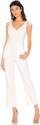 superdown Corinna Tie Strap Jumpsuit