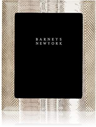 """Barneys New York Studio Snakeskin 8"""" x 10"""" Picture Frame"""