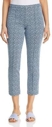 MICHAEL Michael Kors Floral Jacquard Crop Pants