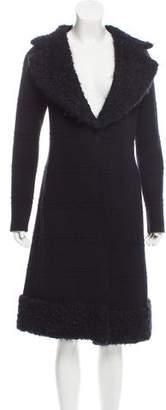 CNC Costume National Wool Sweater Coat