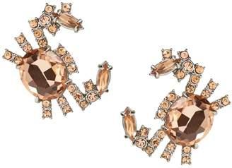 Banana Republic Jeweled Crab Stud Earring