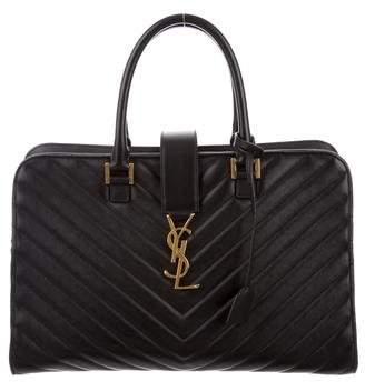 Saint Laurent Matelasse Monogram Cabas Bag