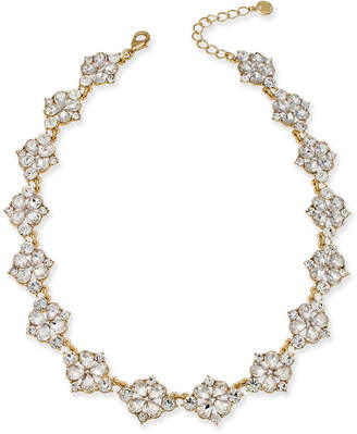 "Charter Club Gold-Tone Crystal Necklace, 17"" + 2"" Extender, Created for Macy's"