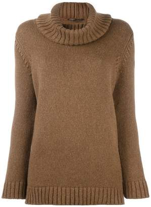 Agnona cashmere turtleneck jumper
