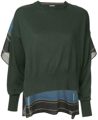 Puma Maison Yasuhiro asymmetric sweater