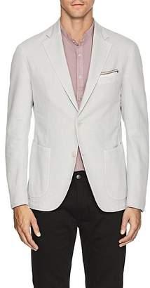 Barneys New York Men's Basket-Weave Cotton-Linen Two-Button Sportcoat