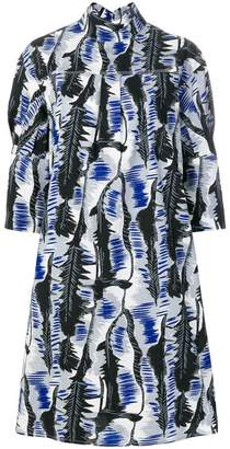Marni printed smock dress