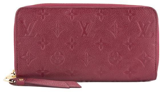 Louis VuittonLouis Vuitton Pink Monogram Empreinte Zippy Wallet (Pre Owned)