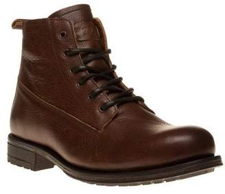 Sole New Mens Tan Frith Leather Boots Lace Up