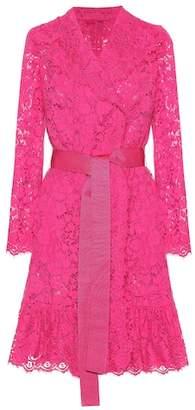 Dolce & Gabbana Lace wrap dress