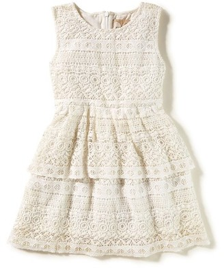 Girl's Peek Tessa Tiered Lace Dress $58 thestylecure.com