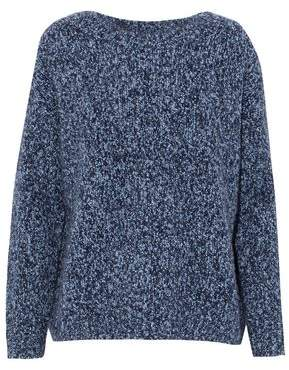 Vince Marled Wool Cashmere And Silk-Blend Sweater
