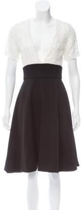 Prabal Gurung Short Sleeve Knee-Length Dress