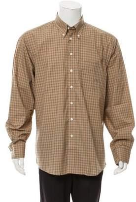 Burberry Gingham Nova Check Shirt w/ Tags