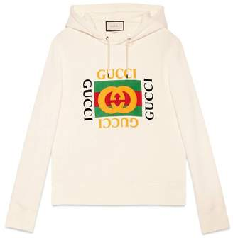 Gucci Cotton sweatshirt with tiger