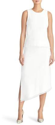 Rachel Roy Collection Pointelle Asymmetrical Knit Skirt