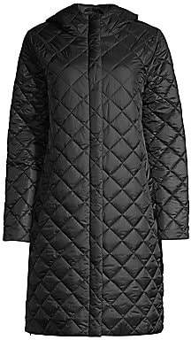 bb60c516e Women's Quilted Hooded Coat