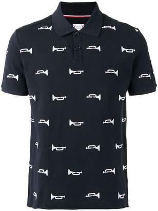Moncler (モンクレール) - Moncler トランペット柄ポロシャツ