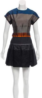 Victoria Beckham Victoria Short Sleeve Mini Dress