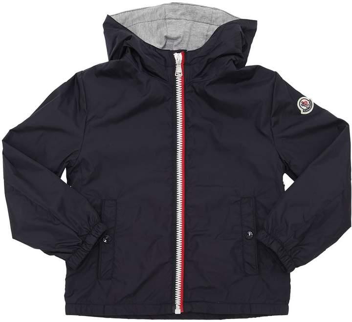 New Urville Hooded Nylon Jacket