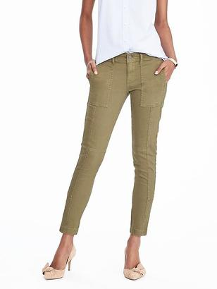 Skinny Stretch Utility Ankle Pant $98 thestylecure.com