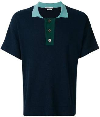 Common Wild classic short-sleeve polo top