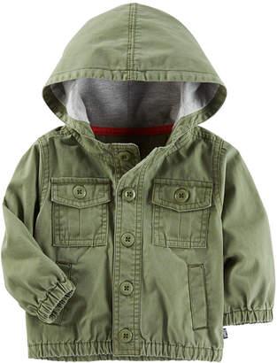 Osh Kosh Oshkosh Olive Surplus Jacket Boys Midweight Field Jacket-Baby