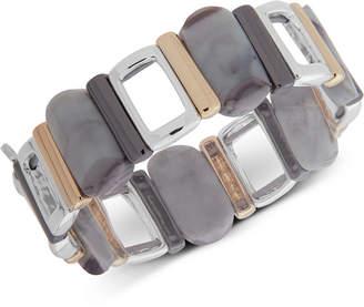 Nine West Tri-Tone & Stone Stretch Bracelet